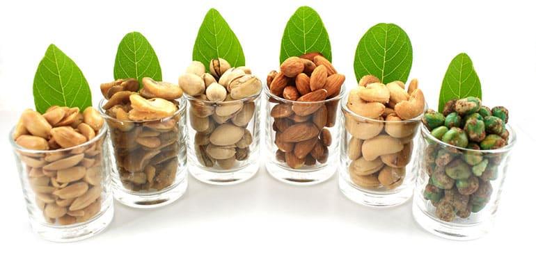 fiber nuts curb appetite