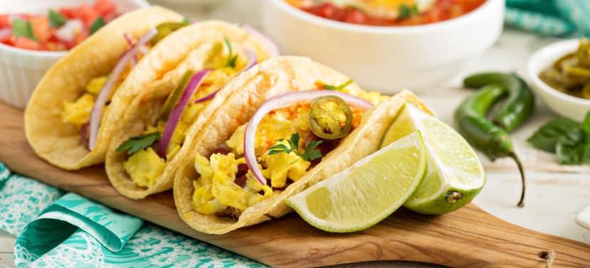 Breakfast Tacos Healthy Brunch Mother's Day