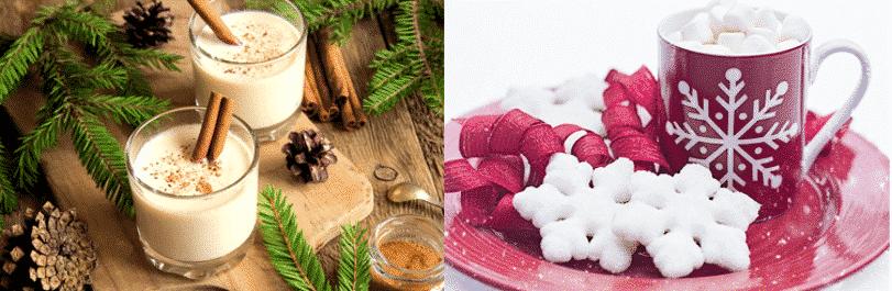 healthy christmas recipe drinks