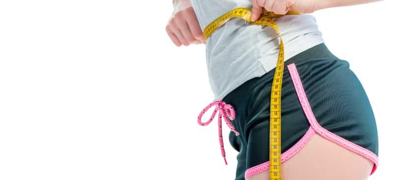 measuring waist hip ratio