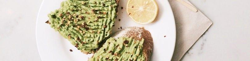 2 ingredient recipes avo toast