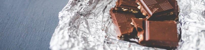 2 ingredient recipes-dark chocolate