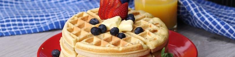 2 ingredient recipes-waffles