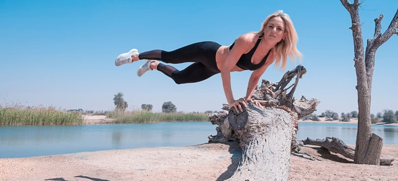 fasted-workout-strong-woman