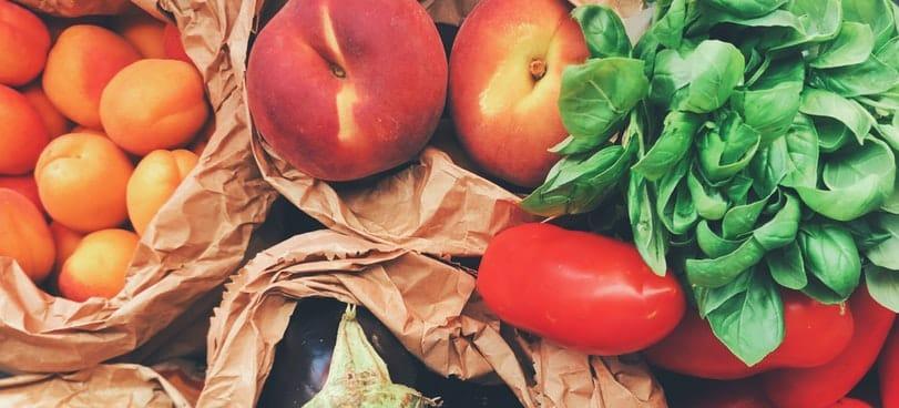 fruits vegetables fiber