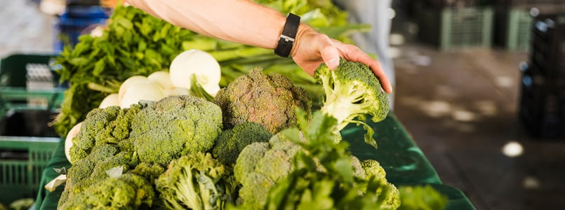 broccoli, which contains fiber to relieve phentermine constipation