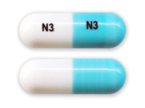generic phentermine 37.5 mg capsule (blue/white, N3)