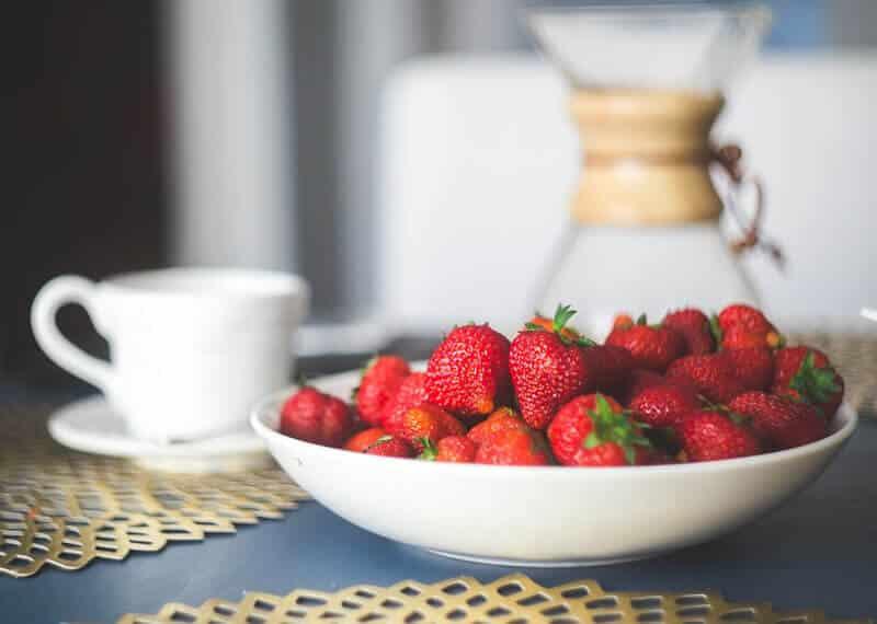 Berries yogurt