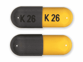 Generic phentermine 15mg capsule (grey/yellow, K 26)