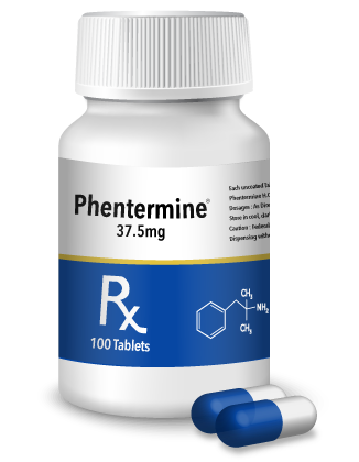 phentermine bottle