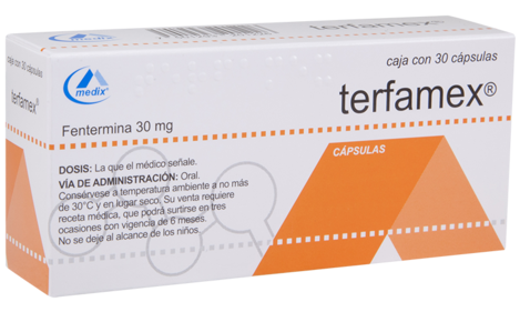 Terfamex 30 mg box