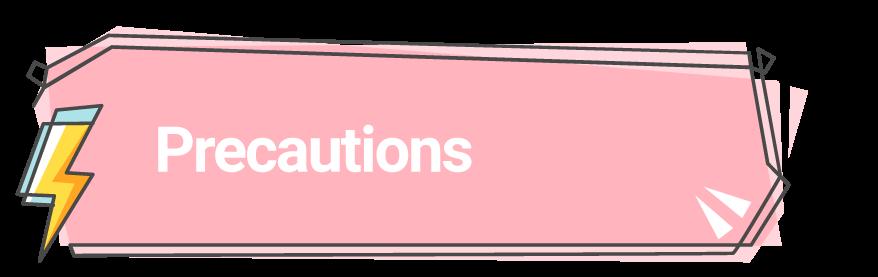 Phentermine Precautions