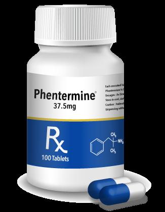 phentermine bottle